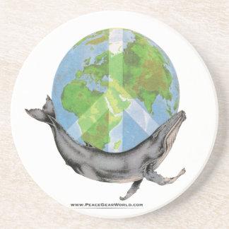 Porta-copos Projeto da paz da baleia de Humpback