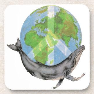 Porta Copos Projeto da paz da baleia de Humpback