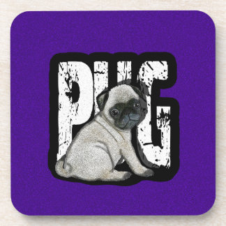 Porta-copos Pug