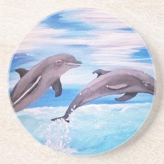 Porta-copos Pulo do golfinho