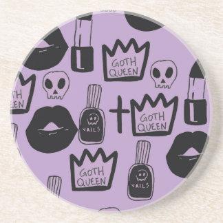 Porta-copos rainha gotica purpura