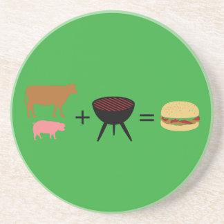 Porta-copos Receita do hamburguer do bacon