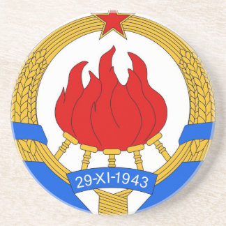 Porta-copos República federal socialista do emblema de