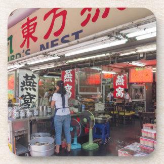 Porta Copos Restaurante em Chinatown Banguecoque