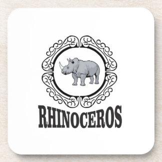 Porta Copos Rinoceronte na caneca
