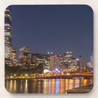 Porta Copos Rio de Melbourne Yarra na noite