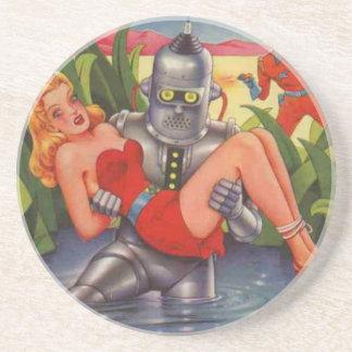 Porta-copos Robô do bandido