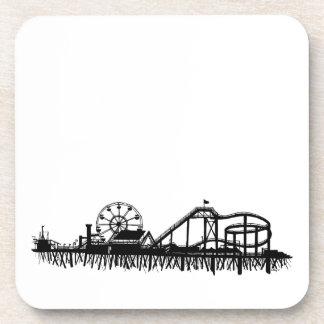 Porta Copos Roda de Ferris da praia do cais de Califórnia