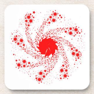 Porta-copos Roda vermelha do Pin