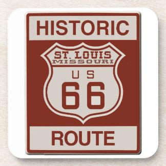 Porta Copos Rota 66 de St Louis