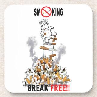Porta-copos Ruptura livre - pare de fumar