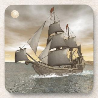 Porta-copos Sair do navio de pirata - 3D rendem