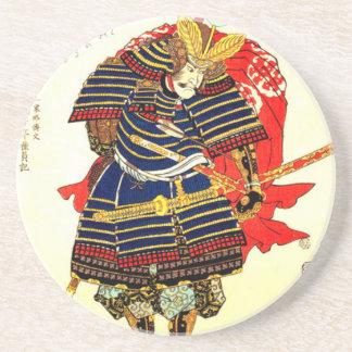 Porta-copos Samurai - 歌川国芳 de Utagawa Kuniyoshi