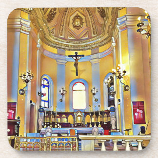Porta Copos Santuário artístico velho bonito de San Juan