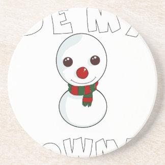 Porta-copos seja meu boneco de neve