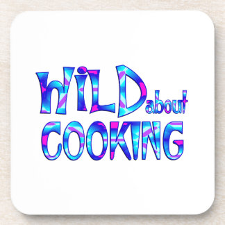 Porta-copos Selvagem sobre o cozinhar