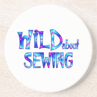 Porta-copos Selvagem sobre Sewing