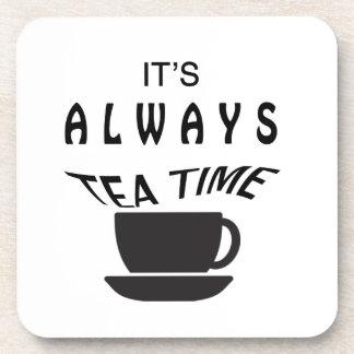 Porta Copos Seu sempre tempo do chá