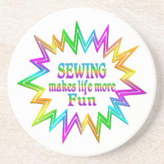 Porta-copos Sewing mais divertimento