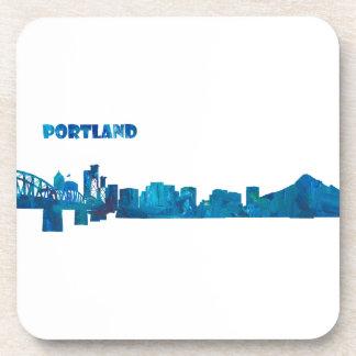 Porta-copos Silhueta da skyline de Portland