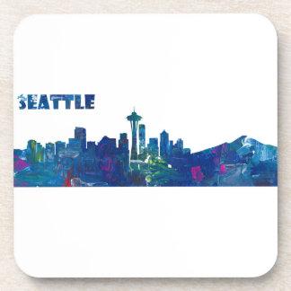 Porta-copos Silhueta da skyline de Seattle