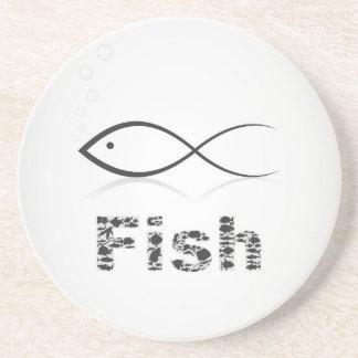 Porta-copos Silhueta fish2