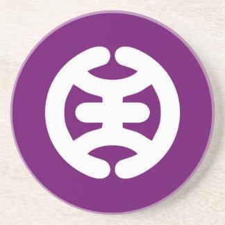 Porta-copos Símbolo da cidade de Japão da bandeira de Hachioji