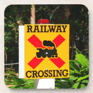 Porta Copos Sinal do cruzamento Railway