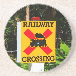 Porta-copos Sinal do cruzamento Railway