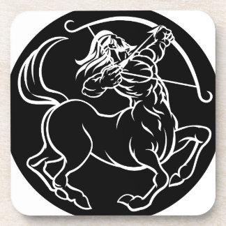 Porta-copos Sinal do zodíaco do centauro do Sagitário do