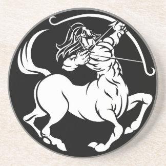 Porta-copos Sinal do zodíaco do Sagitário do centauro