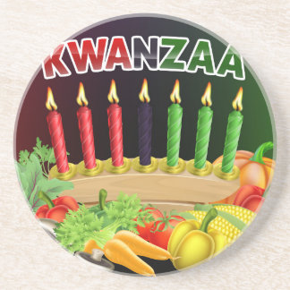 Porta-copos Sinal feliz de Kwanzaa