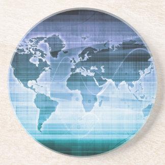 Porta-copos Soluções globais da tecnologia