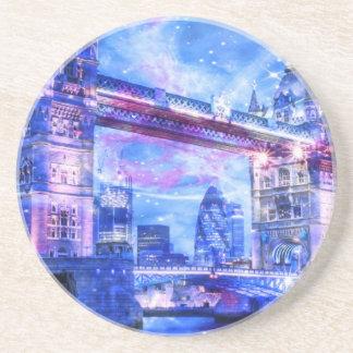 Porta-copos Sonhos da Londres do amante