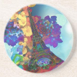 Porta-copos Sonhos de Paris das flores