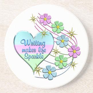 Porta-copos Sparkles da escrita