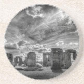Porta-copos Stonehenge
