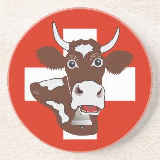Porta-copos Suíça Suisse Svizzera Svizra tampa de cerveja
