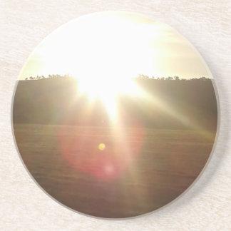 Porta-copos Sun dourado 2