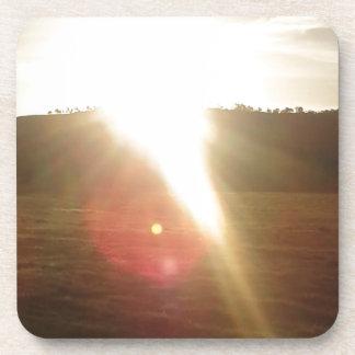 Porta-copos Sun dourado 3