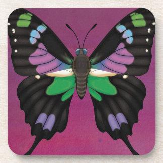 Porta Copos Swallowtail manchado roxo