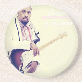Porta-copos T da guitarra elétrica de Jimmy