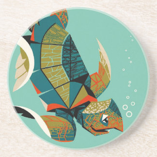 Porta-copos Tartaruga de mar australiana animador