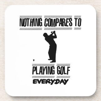 Porta-copos Tendendo o design legal do golfe