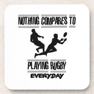Porta-copos Tendendo o design legal do rugby