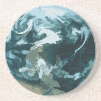 Porta-copos Terra pintada