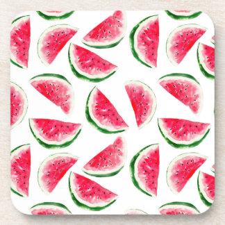 Porta-copos Teste padrão bonito do abacaxi & da melancia