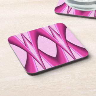 Porta-copos Teste padrão cor-de-rosa