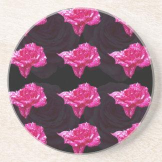 Porta-copos Teste padrão cor-de-rosa da camada do rosa quente