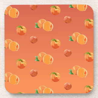 Porta-copos Teste padrão da fruta do pêssego